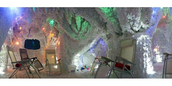 69 Kč za vstup do solno-jodové jeskyně v Hradci Králové