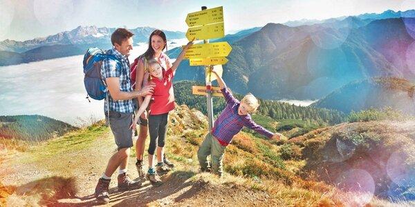 Pronájem apartmánů v rakouských Alpách