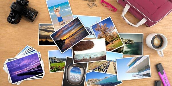 Vyvolání fotografií nejen z dovolené