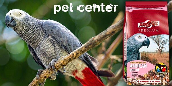Kilové krmivo Prestige pro velké africké papoušky