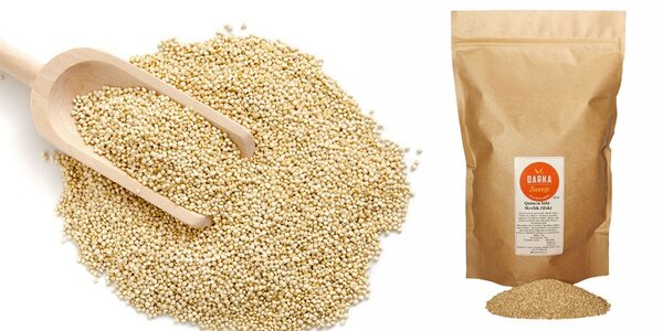 Semínka bílé quinoy v praktickém maxi balení