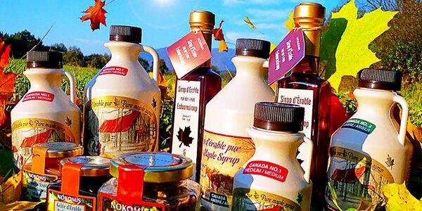 Javorové mlsky přímo z Kanady – sirup, cukr, čaj i bonbóny