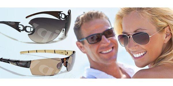Sluneční brýle prestižních amerických značek dle výběru