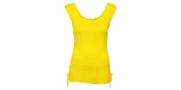 Dámské citrónově žluté tílko tílko Holly Kate