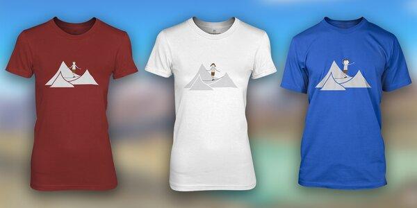Parádní volnočasová trička ClimbShade