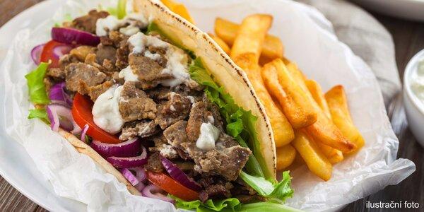 Cokoli z tureckého fast foodu Döner Kebab