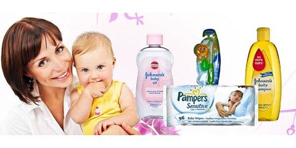 Značkový kosmetický balíček pro vaše miminko