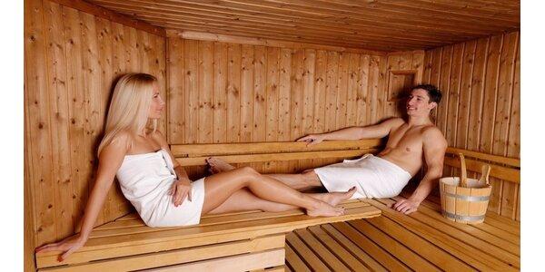 Jarní pohoda v sauně