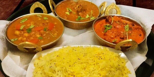 Bohaté menu pro dva v pravé nepálské restauraci