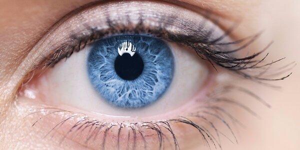 Kontrola očí a aplikace kontaktních čoček