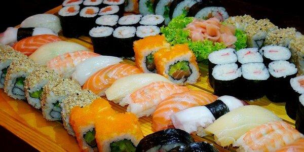 Podlehněte dokonalé chuti čerstvého sushi