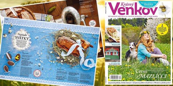 Roční předplatné časopisu Krásný venkov