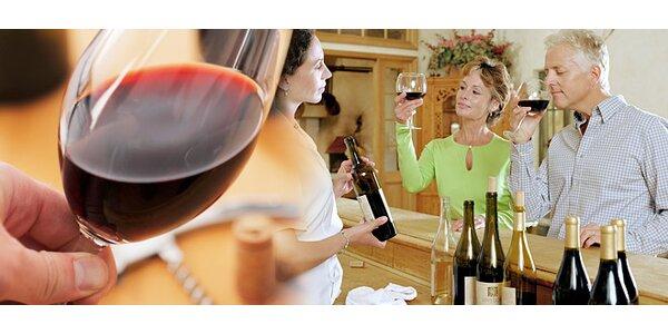 Ochutnávka přívlastkových vín pro DVA. Sýr, olivy i pršut!