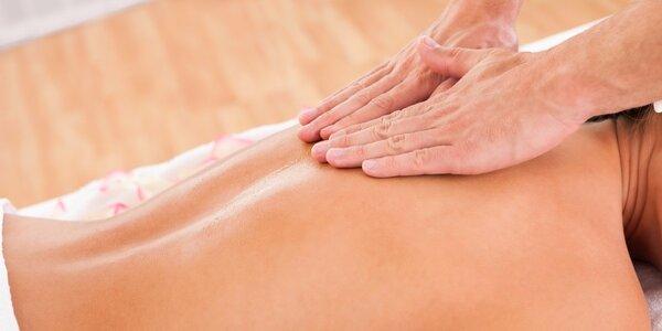 90minutová klasická masáž těla