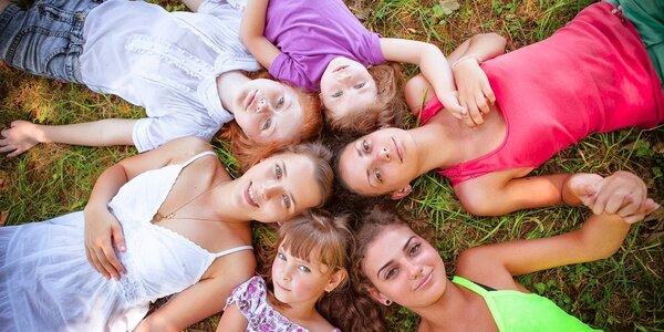 Dětský tábor v Krkonoších - lze s účastí rodičů