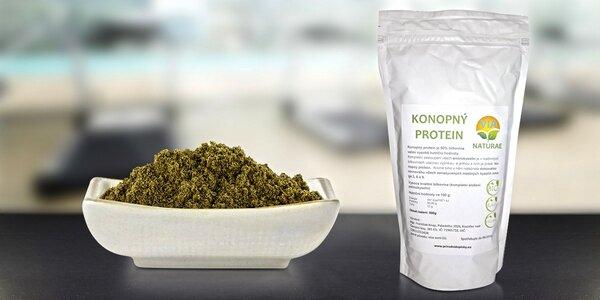 Zdravá strava s bio konopným proteinem