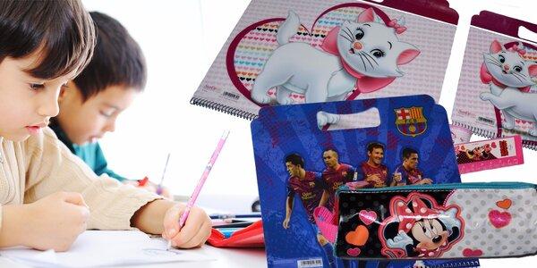 Kreslicí sety s motivy Disney i FC klubů