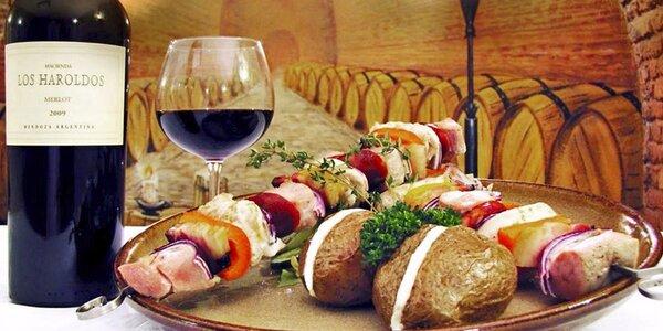 50% sleva na jídlo v restauraci U Českých pánů