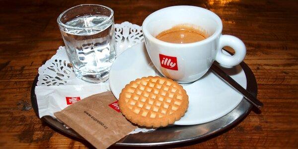 Italské espresso Illy v centru Prostějova