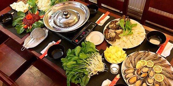 Luxusní asijský Hot Pot pro 4 osoby