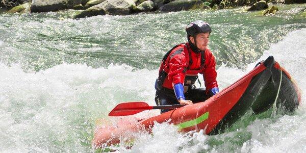 Rafting na Yukonech s dopravou a polopenzí