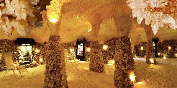 Zdravý odpočinek v solné jeskyni Solana