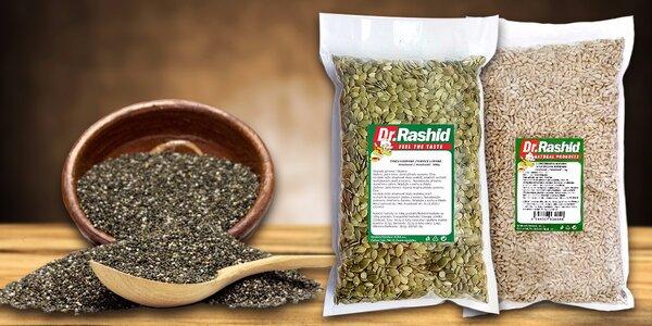 Kilo chia semínek a další zrníčka pro zdraví