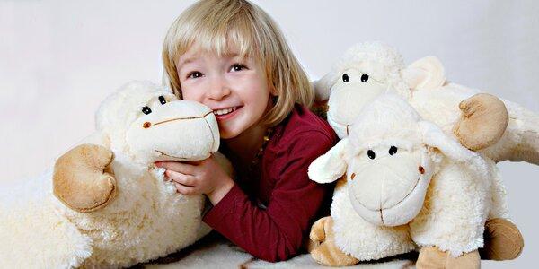 Sladké sny s rozkládací plyšovou ovečkou