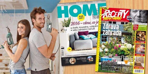Předplatné časopisů HOME a Recepty prima nápadů
