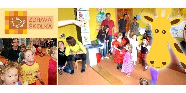 1750 Kč za 14denní příměstský tábor pro děti od 3 do 7 let ve Zdravé školce