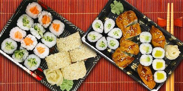 Nápaditá sushi menu s sebou