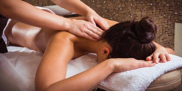 Hodinová masáž pro uvolnění těla i mysli