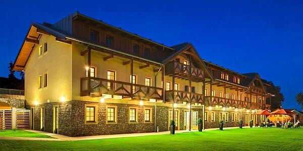 Báječný oddych v novém 4* hotelu na Lipně