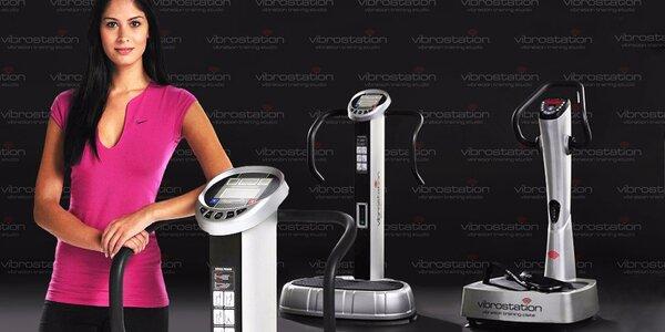 5x cvičení s Vibrostation® za parádní cenu