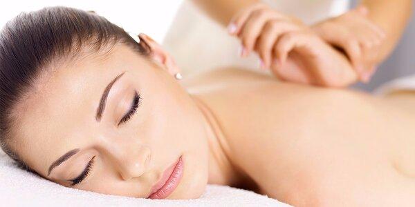 45minutová uklidňující sportovní masáž