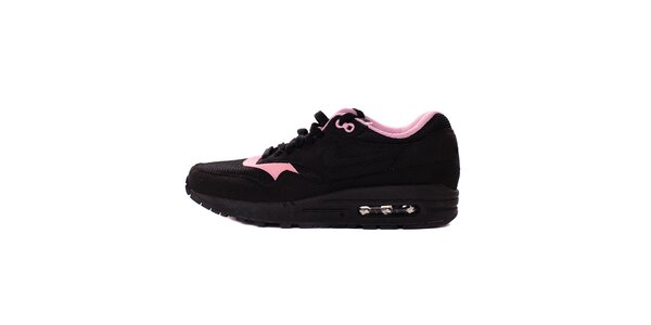 Dámské černo-růžové tenisky Nike