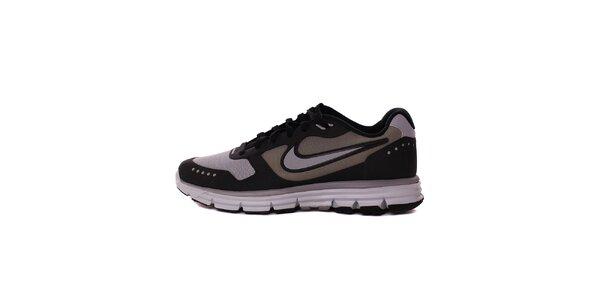 Pánské šedo-černé běžecké tenisky Nike