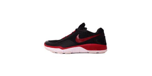 Pánské červeno-černé tenisky Nike
