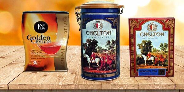 Lahodné sypané černé čaje ze Srí Lanky