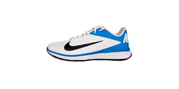 Pánské modro-bílé tréninkové tenisky Nike