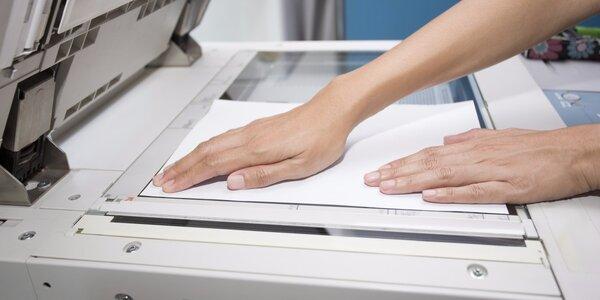 Kredit na špičkový tisk a kopírování