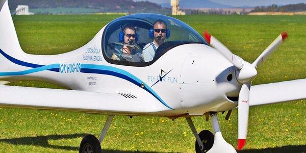 Pilotem letadla Zephyr 2000 + instruktáž