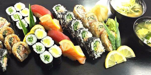 Barevný sushi set v Sushi Kingu