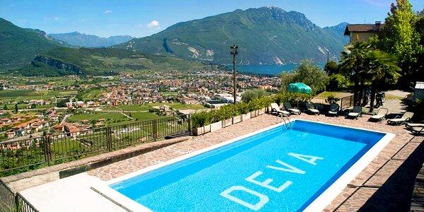 Lenošení u jezera Lago di Garda s polopenzí