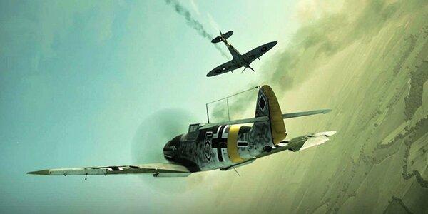 Na hodinu stíhacím pilotem Messerschmittu