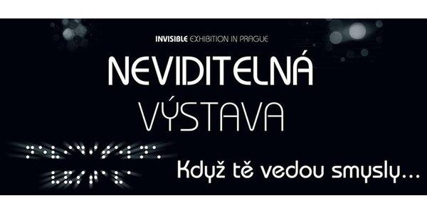 180 za DVĚ vstupenky do světa nevidomých na unikátní Neviditelné výstavě!