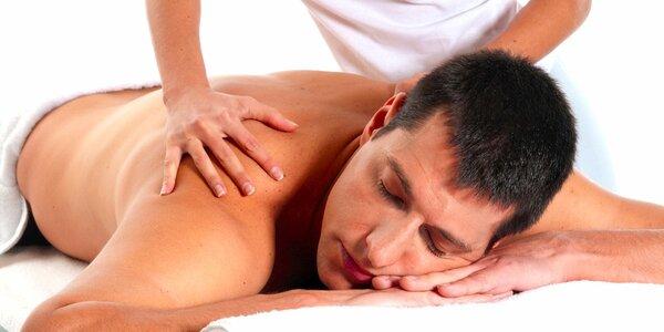 60minutová klasická nebo sportovní masáž