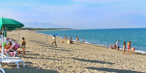 Dovolená u moře ve slunné italské Kalábrii