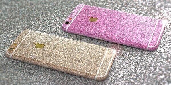 Prémiové třpytivé fólie na iPhone či Samsung