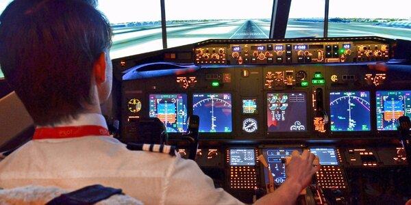 Úžasný zážitek na leteckém simulátoru